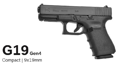 Glock 19 Gen. 4  9x19