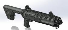 MH12 DOUBLE BARREL 12 GA SHOTGUN 16+2