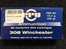 308 Winchester 165gr PPU