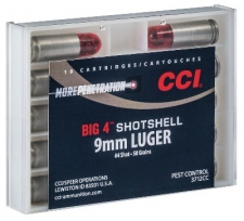 9MM LUGER SNAKE SHOT CCI RDS