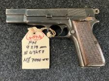 9mm Para FN HighPower Serial # 43258