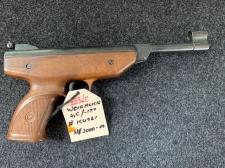 Airpistol Weihrauch .177/4.5 Serial # 154961