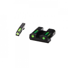 GLN329-GLOCK HIVIZ LITE WAVE H3 SIGHT SET