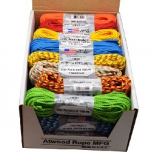 550 PARACORD X 100FT ASSORTED COLOURS