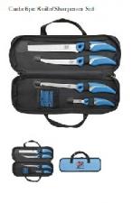 Cuda 6p Knife / Sharpener Set