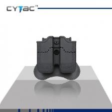 CYTAC DOUBLE  MAGAZINE POUCH H&K USP, USP COMP. P3