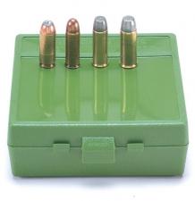 MTM PISTOL BOX 40/45 ACP GREEN (100)