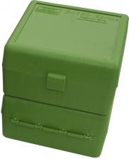 MTM AMMO CASE GREEN- MEDIUM RIFLE (100)