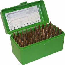 MTM AMMO CASE STD 222  223 GREEN (50)
